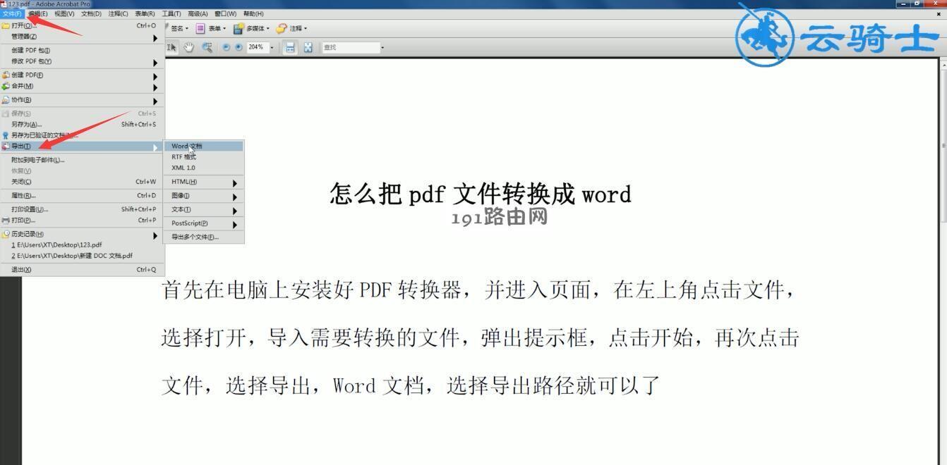 pdf转word怎么转(8)